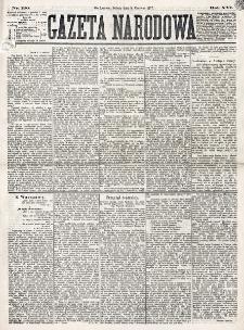 Gazeta Narodowa. R. 16 (1877), nr 130 (9 czerwca)