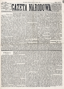 Gazeta Narodowa. R. 16 (1877), nr 131 (10 czerwca)