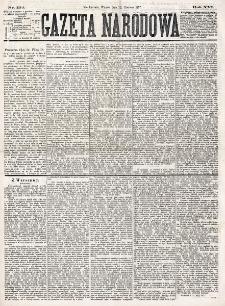 Gazeta Narodowa. R. 16 (1877), nr 132 (12 czerwca)