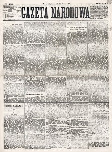 Gazeta Narodowa. R. 16 (1877), nr 133 (13 czerwca)