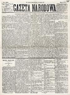 Gazeta Narodowa. R. 16 (1877), nr 134 (14 czerwca)