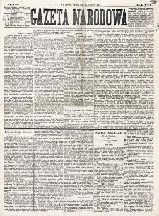 Gazeta Narodowa. R. 16 (1877), nr 136 (16 czerwca)