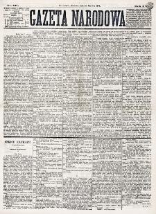 Gazeta Narodowa. R. 16 (1877), nr 137 (17 czerwca)