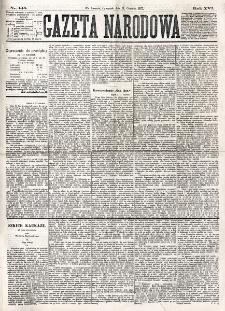 Gazeta Narodowa. R. 16 (1877), nr 140 (21 czerwca)
