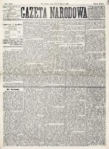 Gazeta Narodowa. R. 16 (1877), nr 141 (22 czerwca)