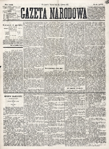 Gazeta Narodowa. R. 16 (1877), nr 142 (23 czerwca)