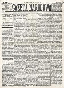 Gazeta Narodowa. R. 16 (1877), nr 146 (28 czerwca)