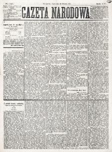Gazeta Narodowa. R. 16 (1877), nr 147 (29 czerwca)