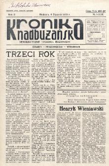 Kronika Nadbużańska : Demokratyczny Tygodnik Regionalny. R. 3, nr 1/2 (86) (6 stycznia 1935)