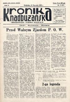 Kronika Nadbużańska : Demokratyczny Tygodnik Regionalny. R. 3, nr 3 (86) (13 stycznia 1935)