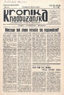 Kronika Nadbużańska : Demokratyczny Tygodnik Regionalny. R. 3, nr 4 (88) (20 stycznia 1935)