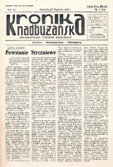 Kronika Nadbużańska : Demokratyczny Tygodnik Regionalny. R. 3, nr 5 (89) (27 stycznia 1935)