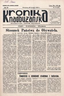 Kronika Nadbużańska : Demokratyczny Tygodnik Regionalny. R. 3, nr 9 (93) (24 lutego 1935)