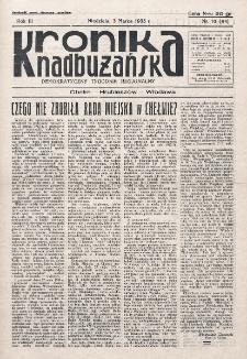 Kronika Nadbużańska : Demokratyczny Tygodnik Regionalny. R. 3, nr 10 (94) (3 marca 1935)