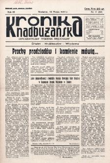 Kronika Nadbużańska : Demokratyczny Tygodnik Regionalny. R. 3, nr 11 (95) (10 marca 1935)