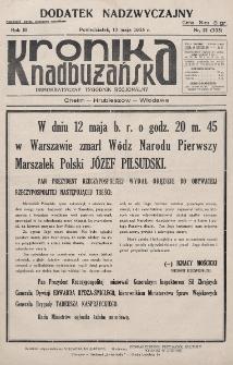 Kronika Nadbużańska : Demokratyczny Tygodnik Regionalny. R. 3, nr 21 (105) (13 maja 1935)