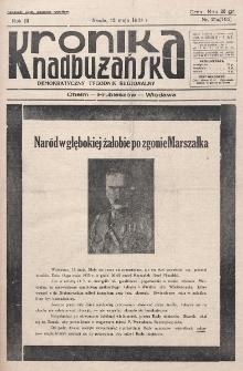 Kronika Nadbużańska : Demokratyczny Tygodnik Regionalny. R. 3, nr 21a (105) (15 maja 1935)