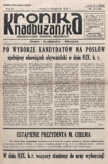 Kronika Nadbużańska : Demokratyczny Tygodnik Regionalny. R. 3, nr 34 (118) (18 sierpnia 1935)
