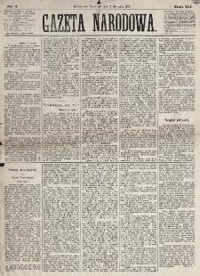 Gazeta Narodowa. R. 12, nr 2 (2 stycznia 1873)