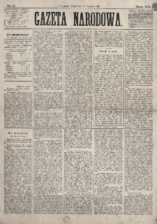 Gazeta Narodowa. R. 12, nr 3 (3 stycznia 1873)