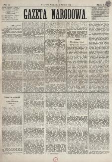 Gazeta Narodowa. R. 12, nr 4 (4 stycznia 1873)