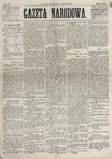 Gazeta Narodowa. R. 12, nr 5 (5 stycznia 1873)