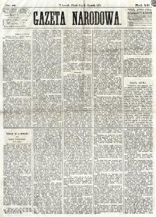 Gazeta Narodowa. R. 12, nr 16 (17 stycznia 1873)