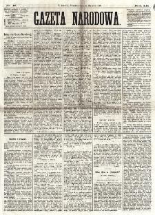 Gazeta Narodowa. R. 12, nr 18 (19 stycznia 1873)