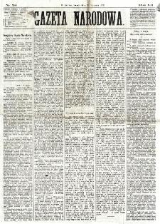 Gazeta Narodowa. R. 12, nr 24 (25 stycznia 1873)