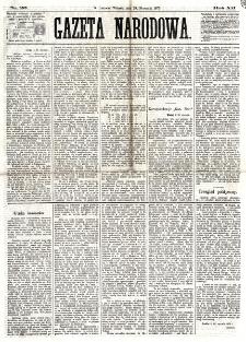 Gazeta Narodowa. R. 12, nr 26 (28 stycznia 1873)