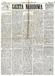 Gazeta Narodowa. R. 12, nr 27 (29 stycznia 1873)