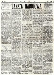 Gazeta Narodowa. R. 12, nr 28 (30 stycznia 1873)