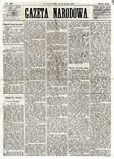 Gazeta Narodowa. R. 12, nr 29 (31 stycznia 1873)