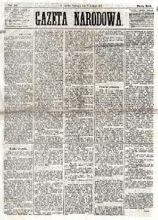 Gazeta Narodowa. R. 12, nr 31 (3 lutego 1873)