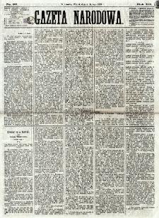 Gazeta Narodowa. R. 12, nr 32 (4 lutego 1873)