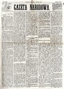 Gazeta Narodowa. R. 12, nr 36 (8 lutego 1873)