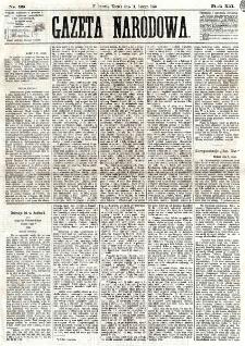 Gazeta Narodowa. R. 12, nr 38 (11 lutego 1873)