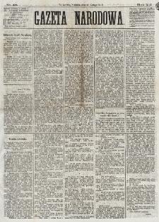 Gazeta Narodowa. R. 12, nr 43 (16 lutego 1873)