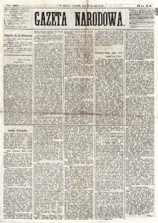 Gazeta Narodowa. R. 12, nr 46 (20 lutego 1873)