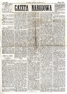 Gazeta Narodowa. R. 12, nr 53 (28 lutego 1873)