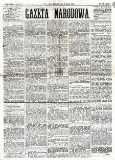 Gazeta Narodowa. R. 12, nr 55 (2 marca 1873)