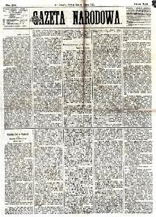 Gazeta Narodowa. R. 12, nr 60 (8 marca 1873)