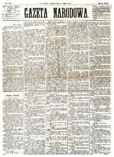 Gazeta Narodowa. R. 12, nr 61 (9 marca 1873)
