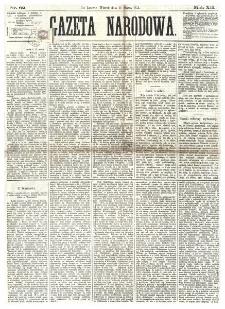 Gazeta Narodowa. R. 12, nr 62 (11 marca 1873)