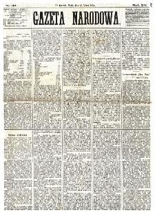 Gazeta Narodowa. R. 12, nr 63 (12 marca 1873)