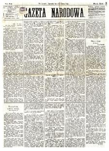 Gazeta Narodowa. R. 12, nr 64 (13 marca 1873)