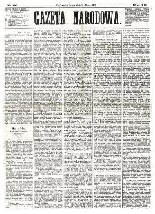 Gazeta Narodowa. R. 12, nr 66 (15 marca 1873)