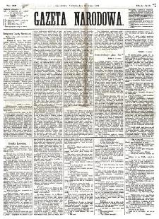 Gazeta Narodowa. R. 12, nr 67 (16 marca 1873)