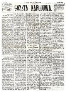Gazeta Narodowa. R. 12, nr 69 (19 marca 1873)