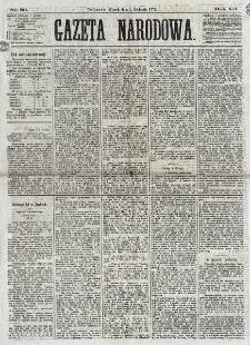 Gazeta Narodowa. R. 12, nr 80 (1 kwietnia 1873)